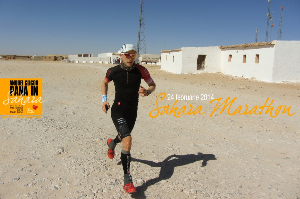 Sahara Marathon a inceput
