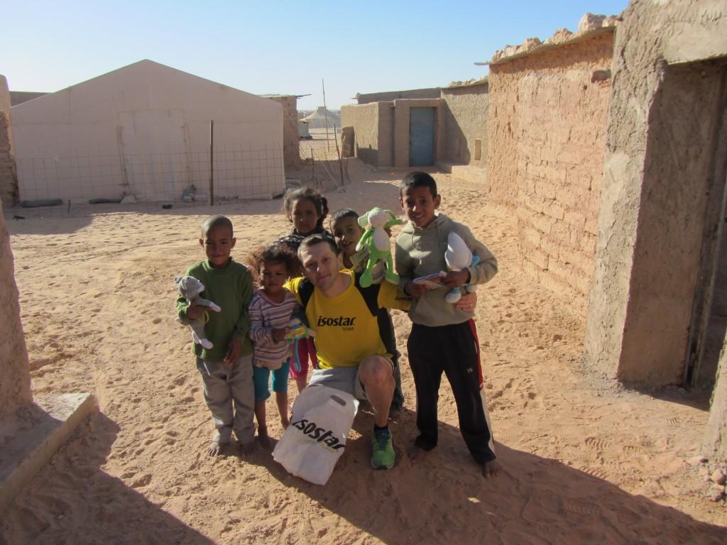 Jucarii pentru copiii Saharawi