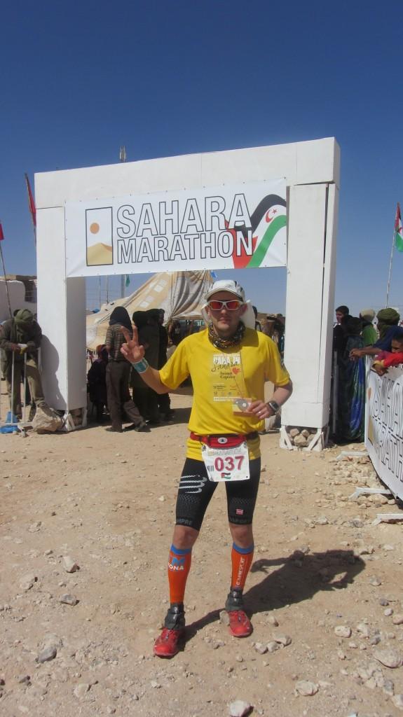 Final la Sahara Marathon! 3h55m04s, locul 17