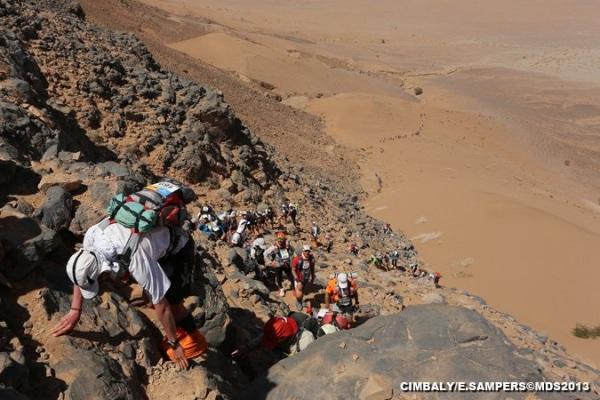 2013-Marathon-des-Sables-Stage-2-El-Otfal-Jebel